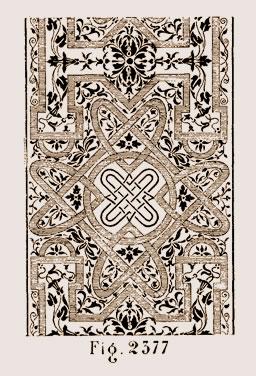 Fragment de marqueterie allemande du XVIIe siècle