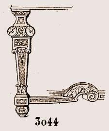 pied de table, style Louis XIV